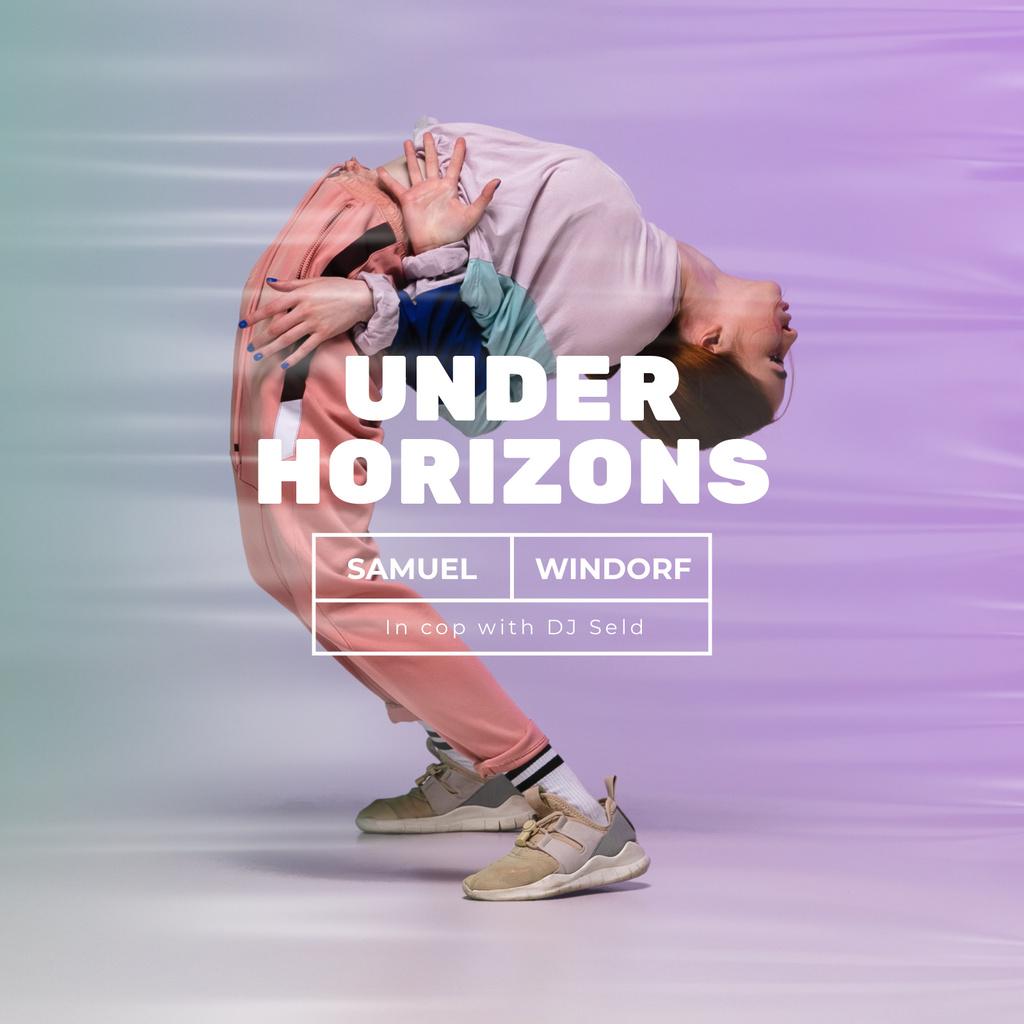 Passionate Dancer performing — Створити дизайн