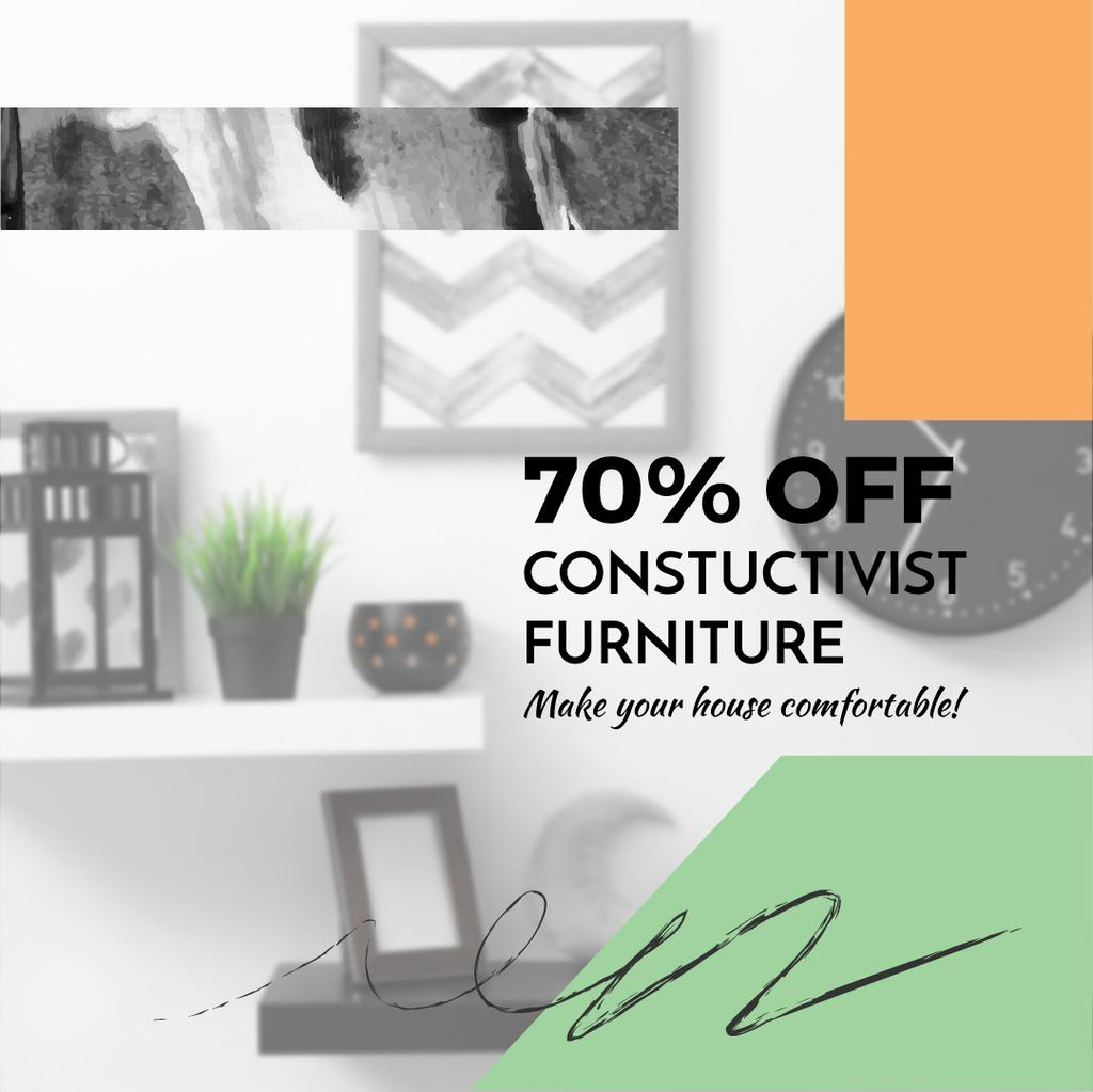 Constructivist furniture sale — Create a Design