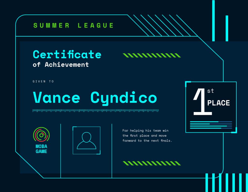 VR game Duel Achievement confirmation — Maak een ontwerp
