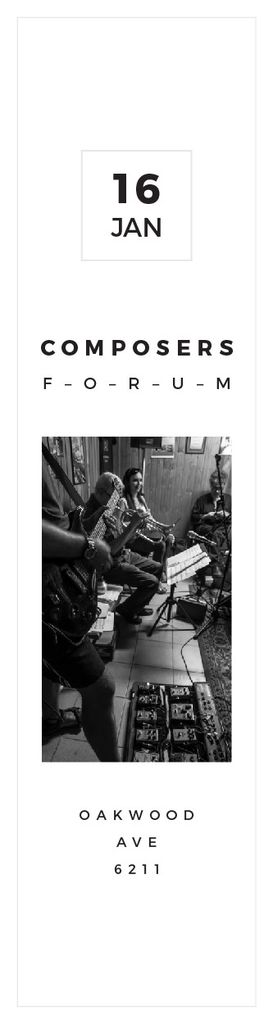Composers Forum in Clayton Residence Skyscraper – шаблон для дизайну