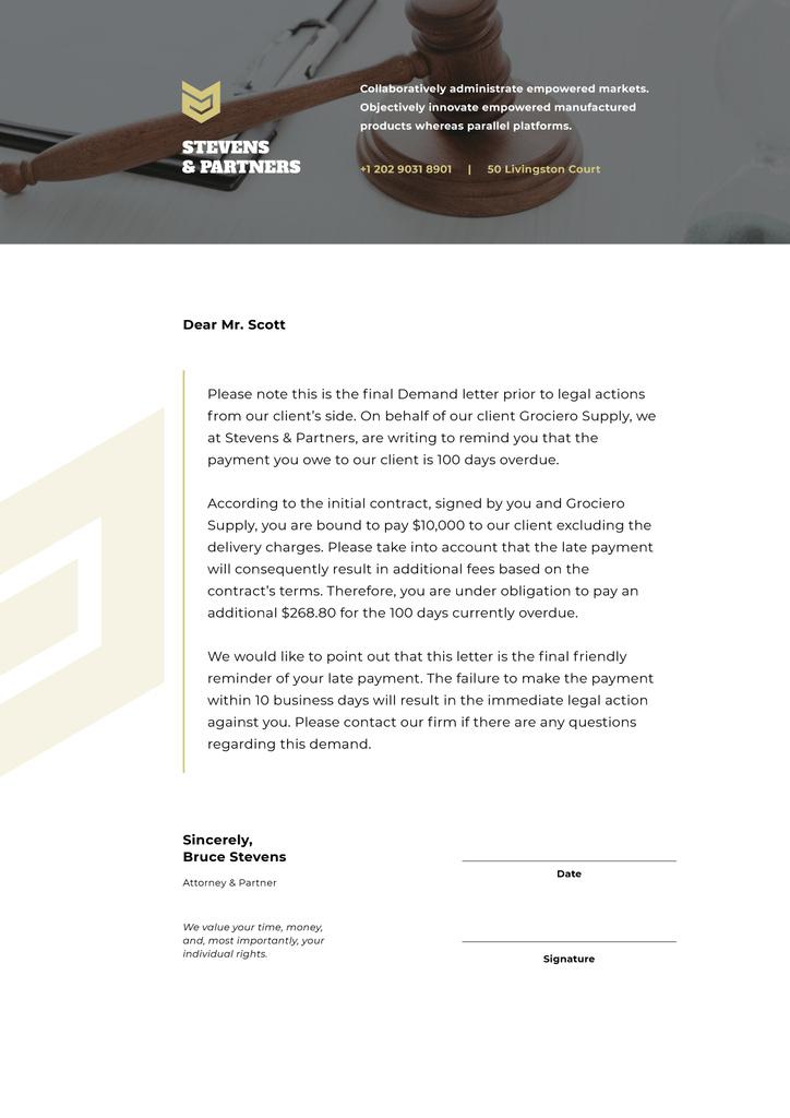 Law Company final Demand — Створити дизайн