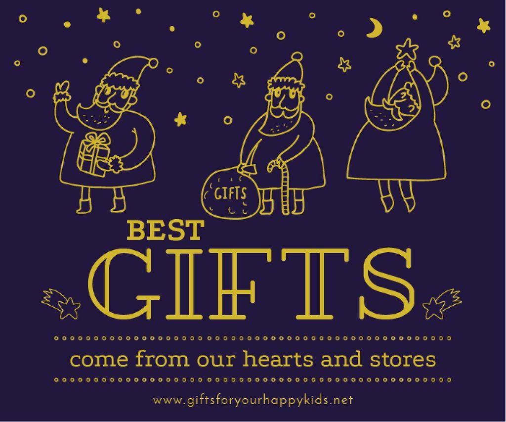 Merry Christmas card — Maak een ontwerp
