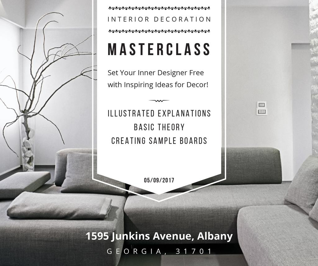 Interior decoration masterclass with Sofa in grey — Crear un diseño