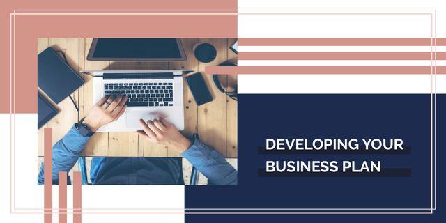 Designvorlage Developing your business plan für Image