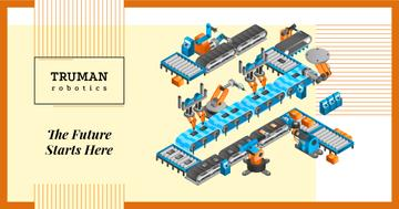 Automated Production Line | Facebook Ad Template