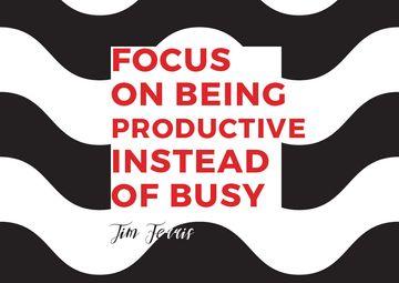 Citation about productivity