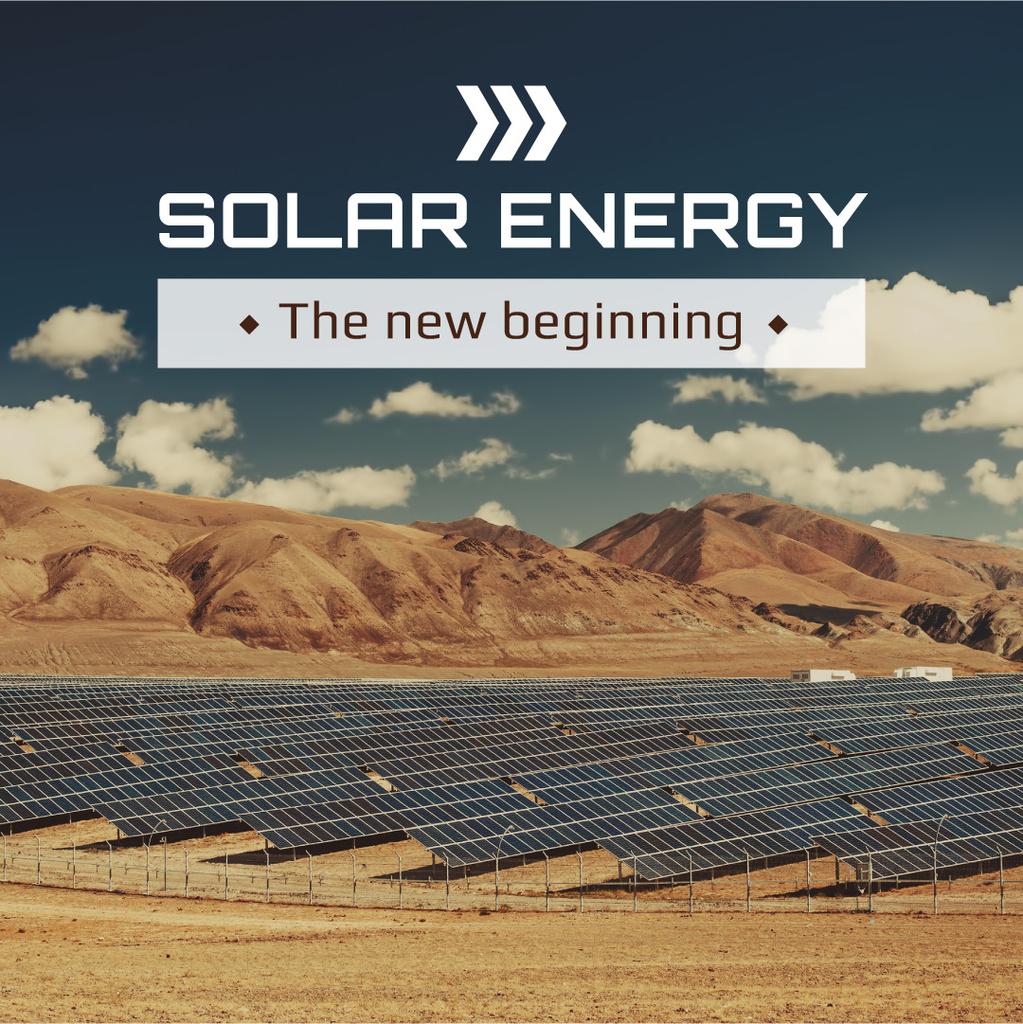 Solar energy poster — Maak een ontwerp