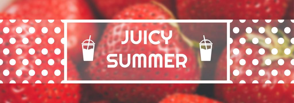 Juicy summer banner — Crea un design
