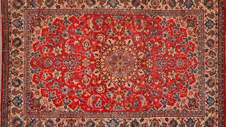 Designvorlage Red Carpet pattern für Zoom Background