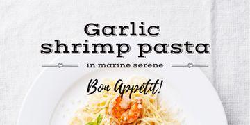 Garlic shrimp Pasta Dish