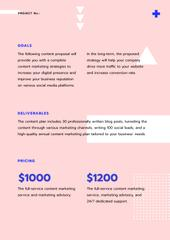 Creative agency services in pink