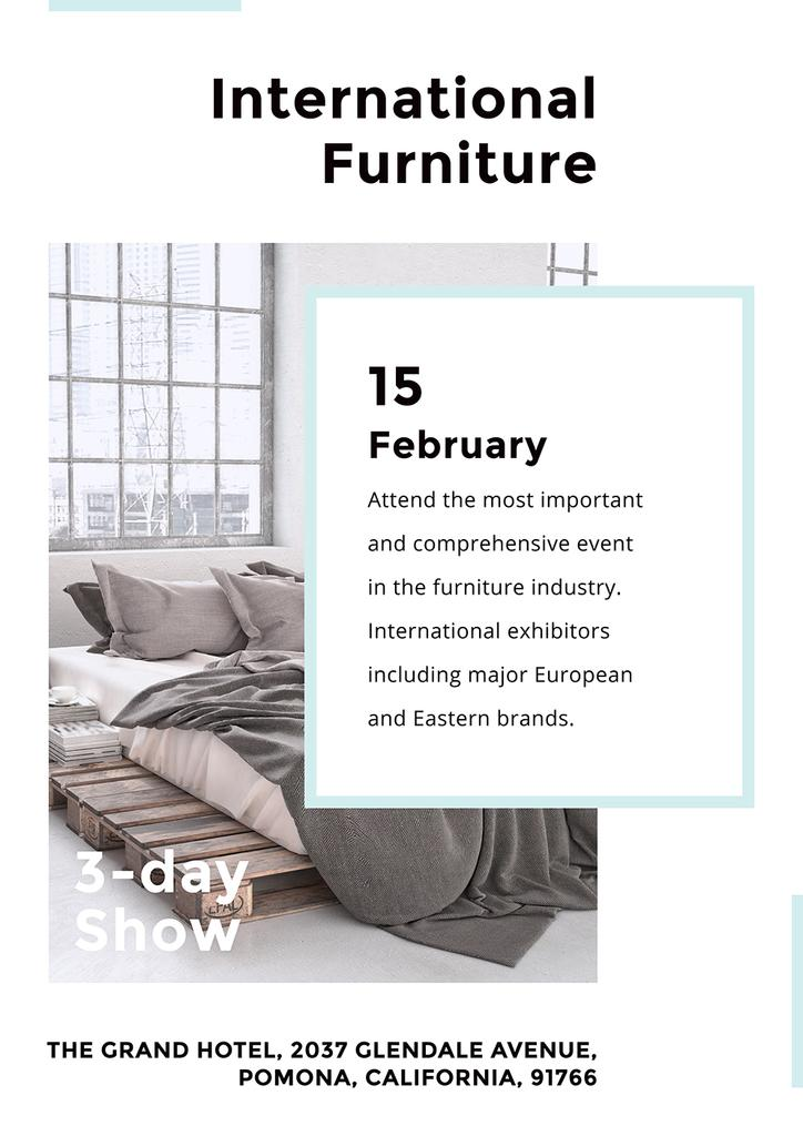 International furniture show — Create a Design