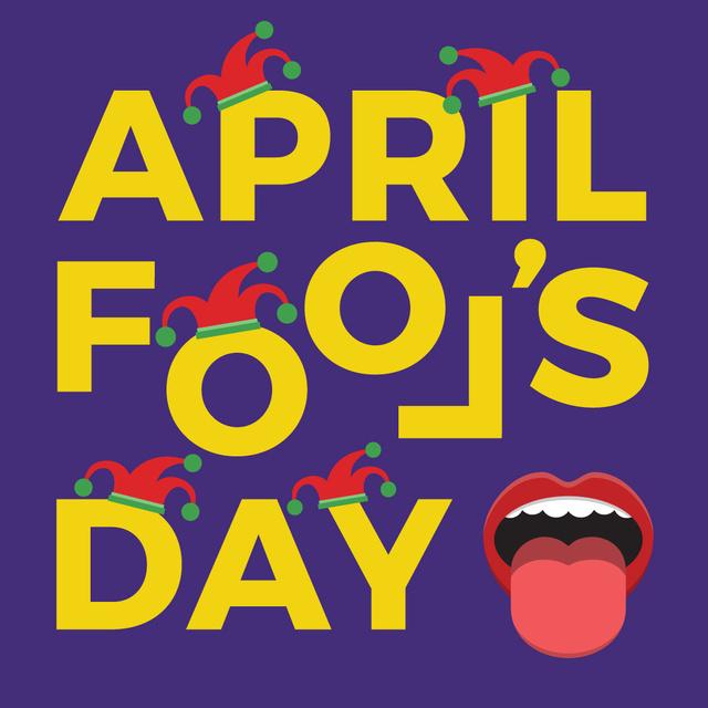April Fools Day Instagram Design Template