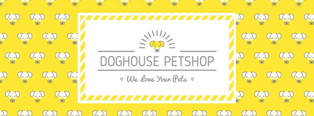 Pet shop bright Annoucement — Crea un design