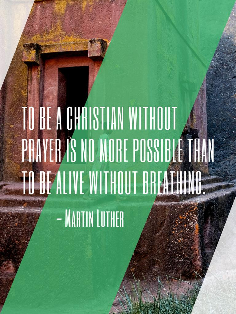 Religion citation about Christian faith — Create a Design