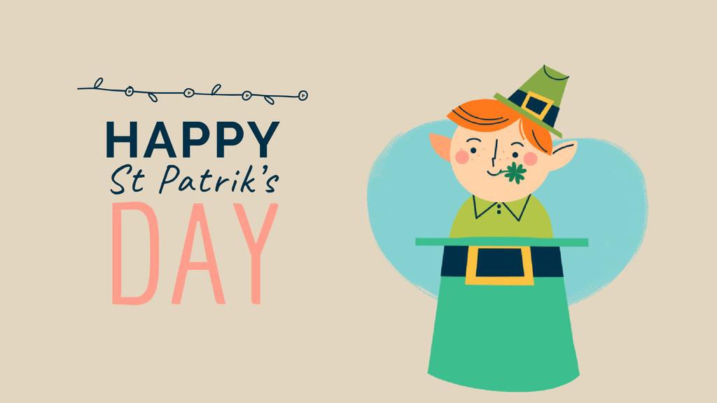 Saint Patrick's Day celebration attributes — Modelo de projeto