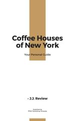 Coffee Houses Guide Cup of Hot Coffee