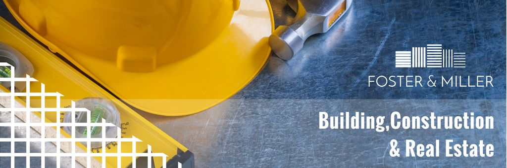 Real estate and construction banner — Create a Design