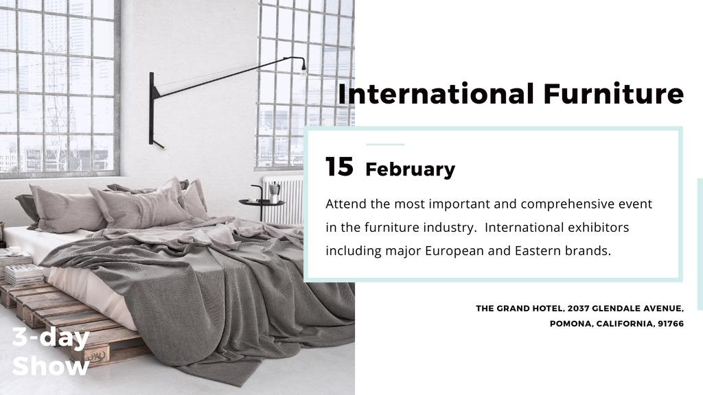 International furniture show — Maak een ontwerp