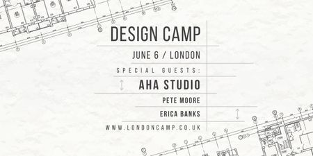 Design camp in London Image Design Template