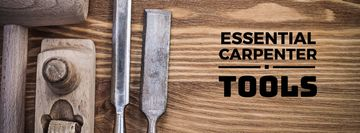 essential carpenter tools poster