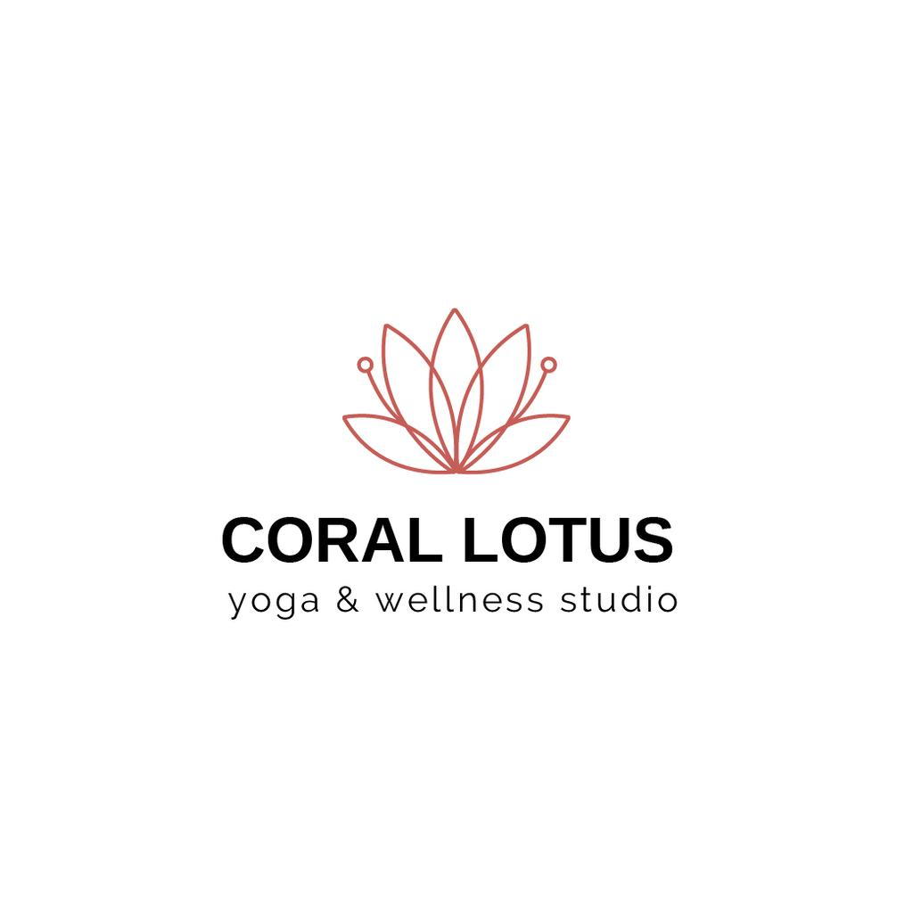 Spa Center Ad with Lotus Flower — Створити дизайн