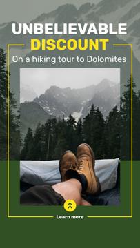 Mountains Hiking Tour Offer Traveler Enjoying View