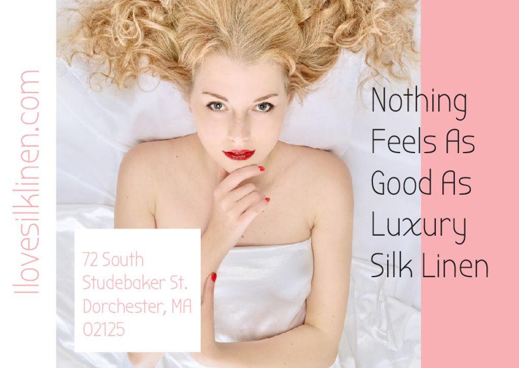 Luxury silk linen — Create a Design