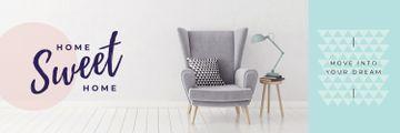 Cozy Interior Armchair Grey Color