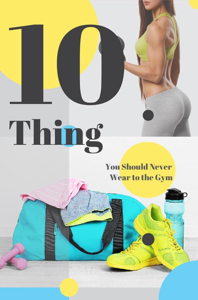Things how never wear to the gym — Create a Design