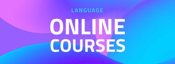 Language Online Courses Ad