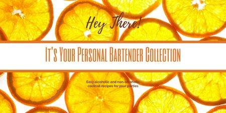 Bartender collection with Citrus Slices Image – шаблон для дизайна