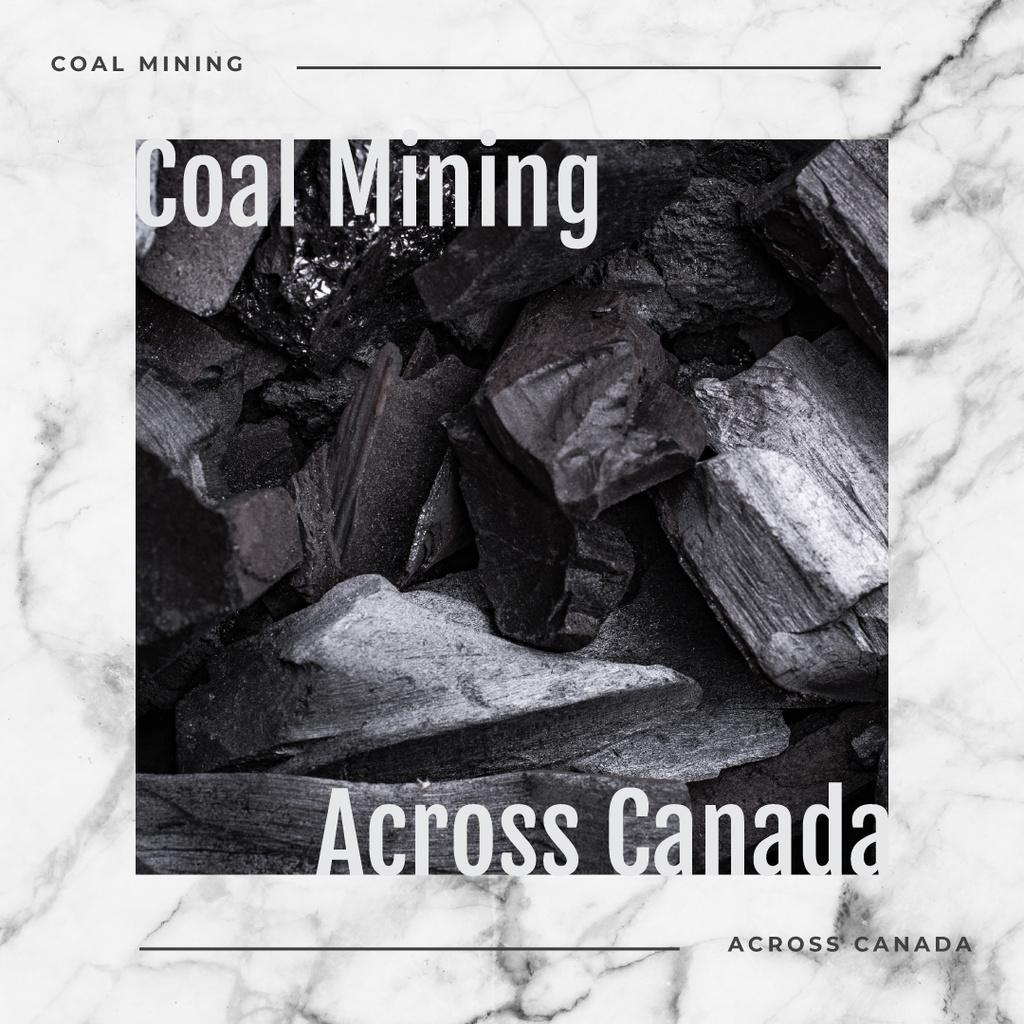 Black coal pieces — Створити дизайн