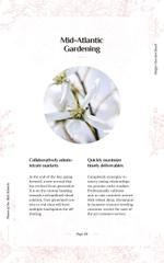 Tender Spring Flowers in White