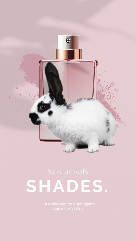 Parfume Easter Offer with little Rabbit — Crear un diseño