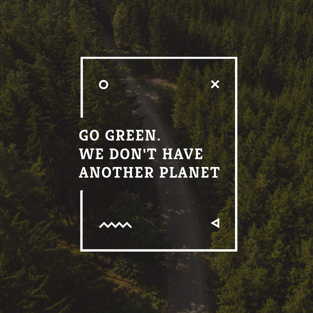 Citation about Green Planet — Crea un design