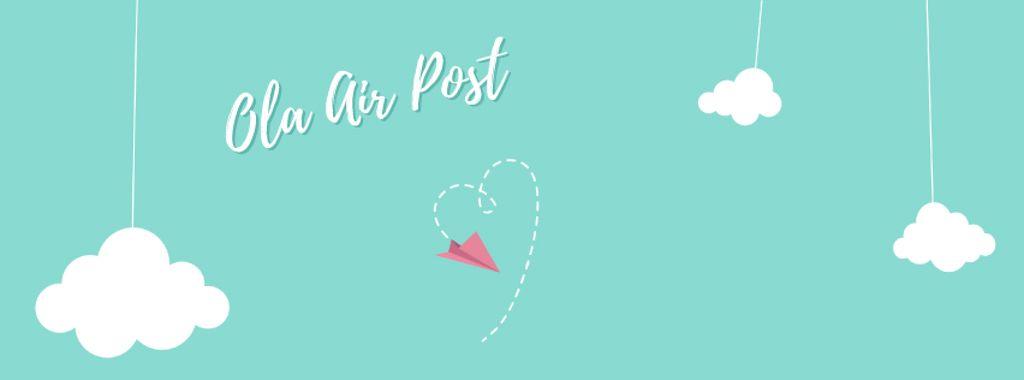 Valentine's Day Plane drawing Heart — Создать дизайн