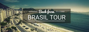 Brasil tour advertisement