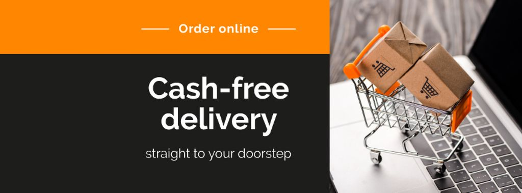 Cash-free delivery Service with cart — Modelo de projeto