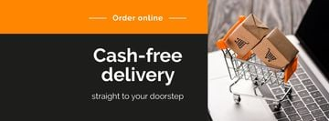 Cash-free delivery Service with cart