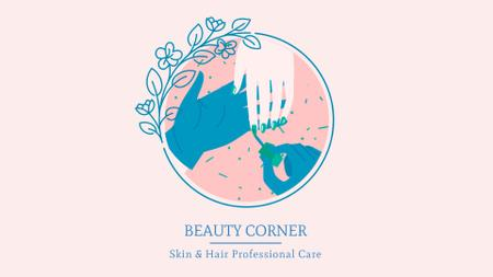 Professional beauty care Full HD video Tasarım Şablonu
