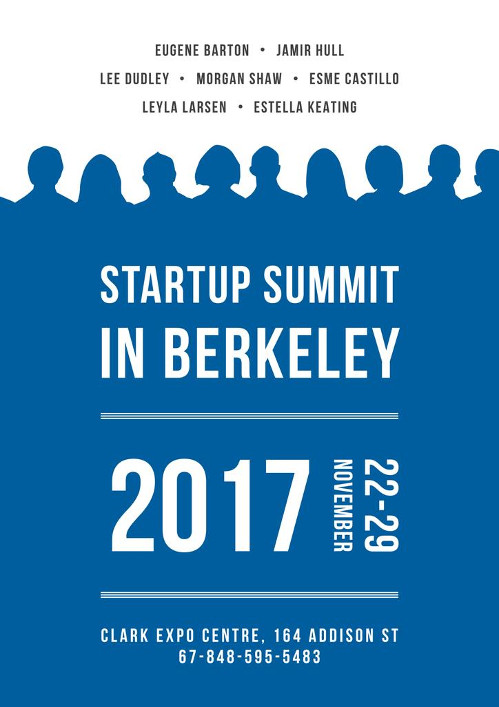 Startuo summit in Berkeley — Create a Design