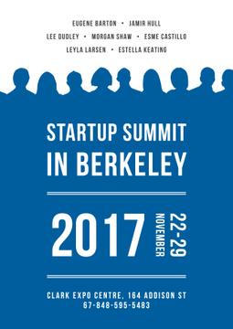 Startuo summit in Berkeley
