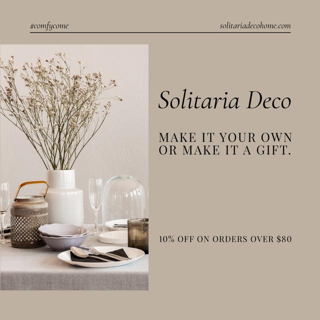 Template di design Decor items Special Offer Instagram