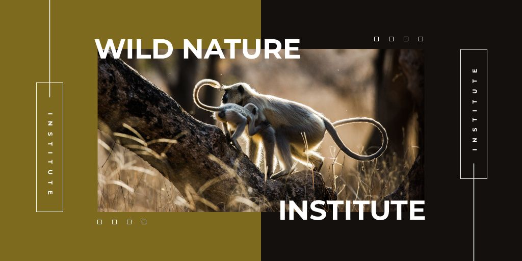 Monkeys in natural habitat — Crear un diseño