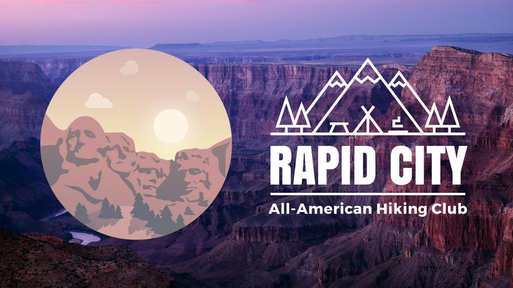 Tour Invitation Mount Rushmore Spot — ein Design erstellen