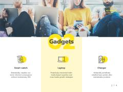 Gadgets Guide People Working on Laptops
