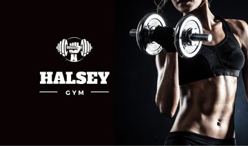 Halsey gym dark banner