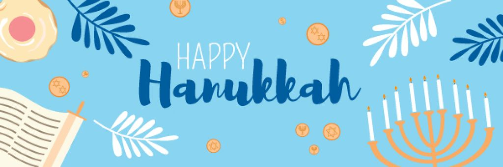 Happy Hanukkah greeting card  — Create a Design