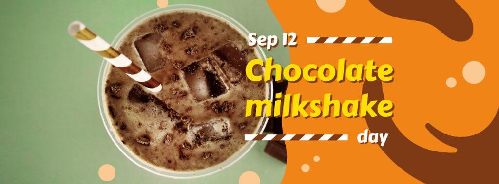 Sweet chocolate milkshake — Створити дизайн